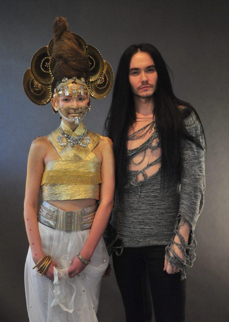 Kajetan Góra modelka Dana Sakaieva
