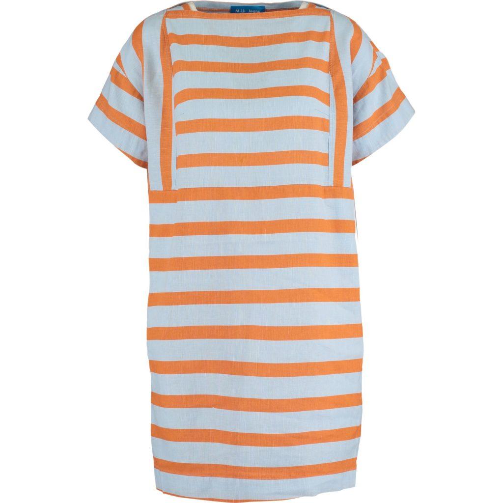 TK_Maxx_Niebiesko pomarańczowa sukienka_299.99zł