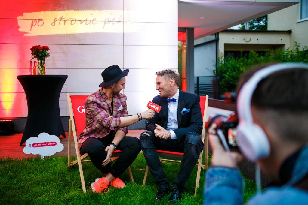 DR Krzysztof Gojdz podczas wywiadu, fot. Bartko Debkowski_Kreatyw!Media