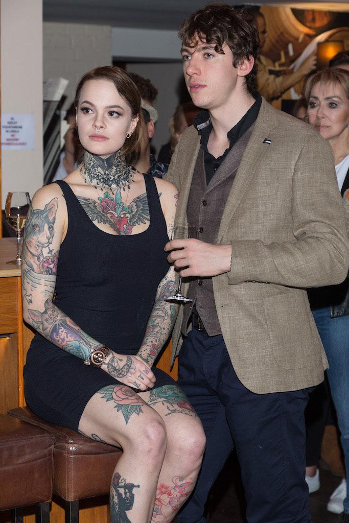 Monika Miller z partnerem, fot. Pawel Wodzynski