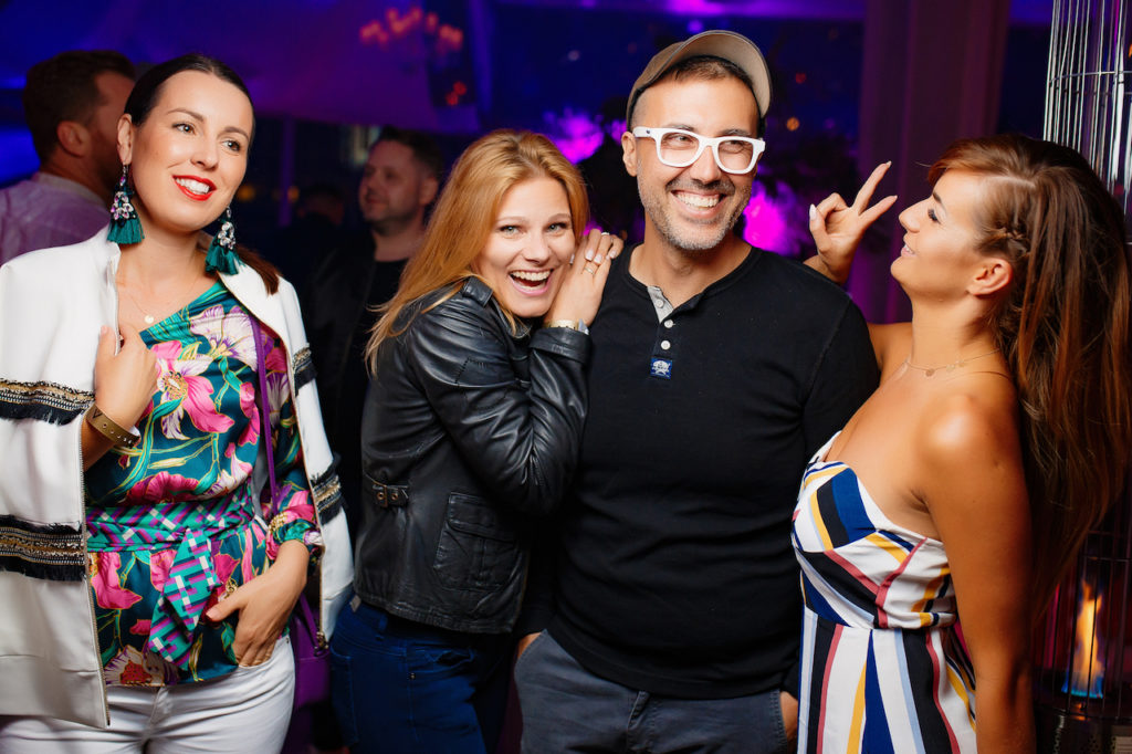 Eliza Gwiazda, Anna Glogowska, DJ Adamus, Patrycja Wieja, fot. Alex Kibuk