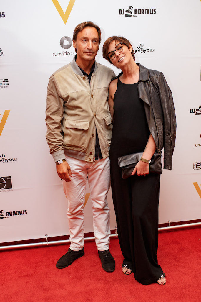 Paul Montana i Ilona Felicjanska,fot. Alex Kibuk