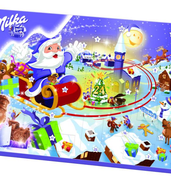 Milka inspiruje do odkrywania magii oczekiwania na Święta
