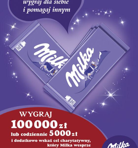 Wygrywaj i pomagaj z Milką!